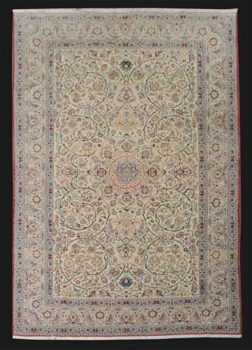 1387 PERSIAN VINTAGE NAIN TUDESH 5  X 7.9