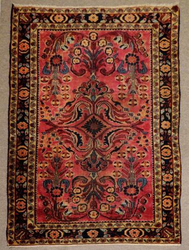 1640 PERSIAN VINTAGE LILIHAN 3.9 X  4.9