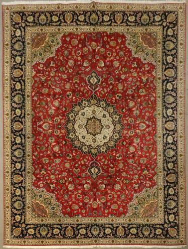 1797 PERSIAN TABRIZ JAVAD GHALAM 9.8 X 13