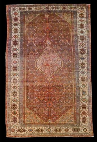 2120 PERSIAN ANTIQUE MALAYER 9.10 X 16.6