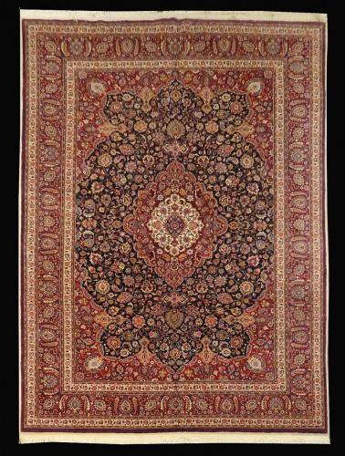 2137 PERSIAN VINTAGE MASHAD SABER 10 X 13.1