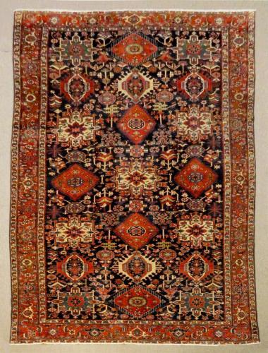 22237 PERSIAN VINTAGE FINE KHARAJEH  7.4 X 11
