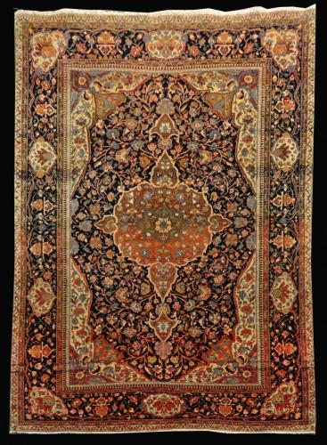 2469 PERSIAN ANTIQUE FARAHAN 4.5 X 6.6
