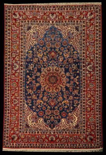 2482 PERSIAN VINTAGE ESFAHAN 5 X  7.7