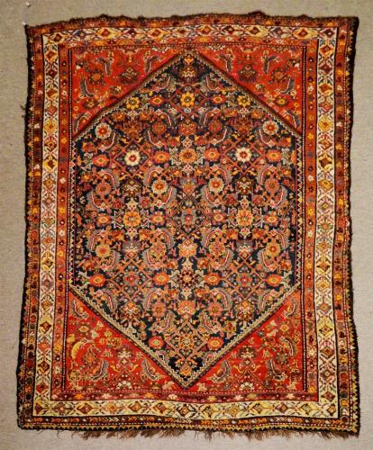 2659 PERSIAN VINTAGE SHIRAZ 4.3 X  5.10