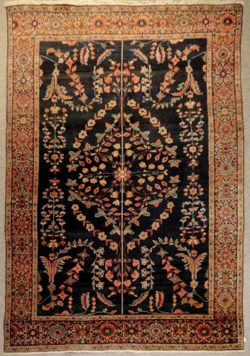 2712 PERSIAN ANTIQUE FARAHAN 3.11 X  6.3