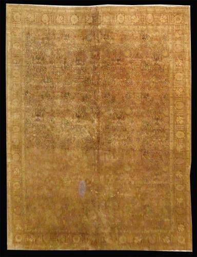 2745  PERSIAN VINTAGE TABRIZ 11.4 X 15.8